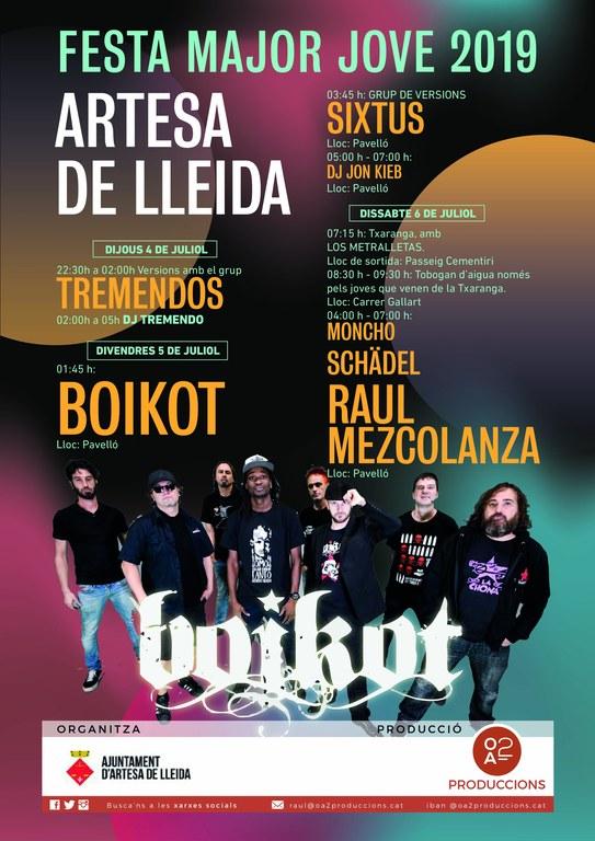 Cartell concerts jove Artesa de Lleida.JPG
